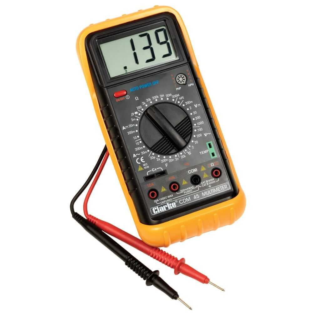 How Digital Multimeter works: Description