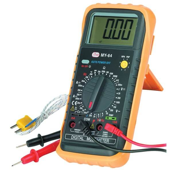 Digital Meter Symbols : What is a digital multimeter dmm and its working