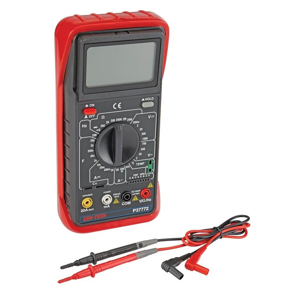 How To Read A Digital Multimeter Analyse Meter Electronic Multimeters Basic