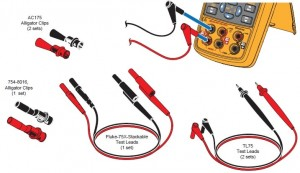 Accessories of Fluke 712B calibrator