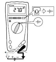 Measurement set-up of Capacitance