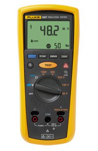 Fluke 150x series insulation resistance tester