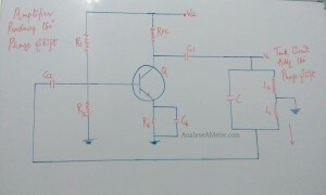 Hartley oscillator circuit image