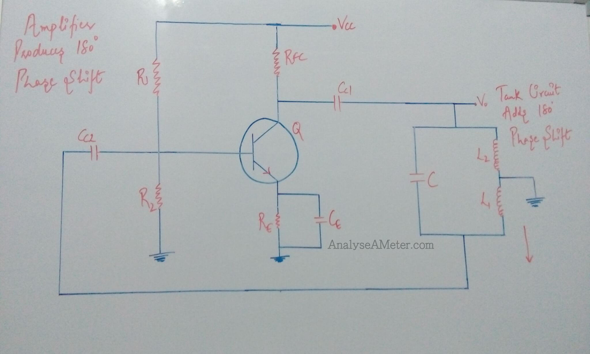 Hartley Oscillator Description Guide Analyse A Meter Amplifier Circuit Transistorized Electronic Circuits Diagram Image