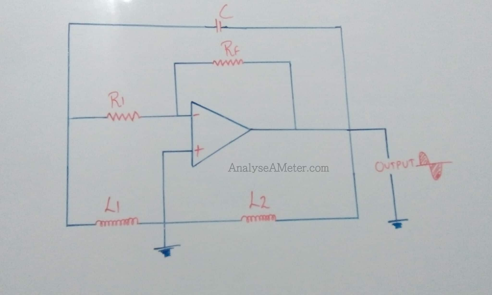 Hartley Oscillator Description Guide Analyse A Meter Op Amp Circuits Using