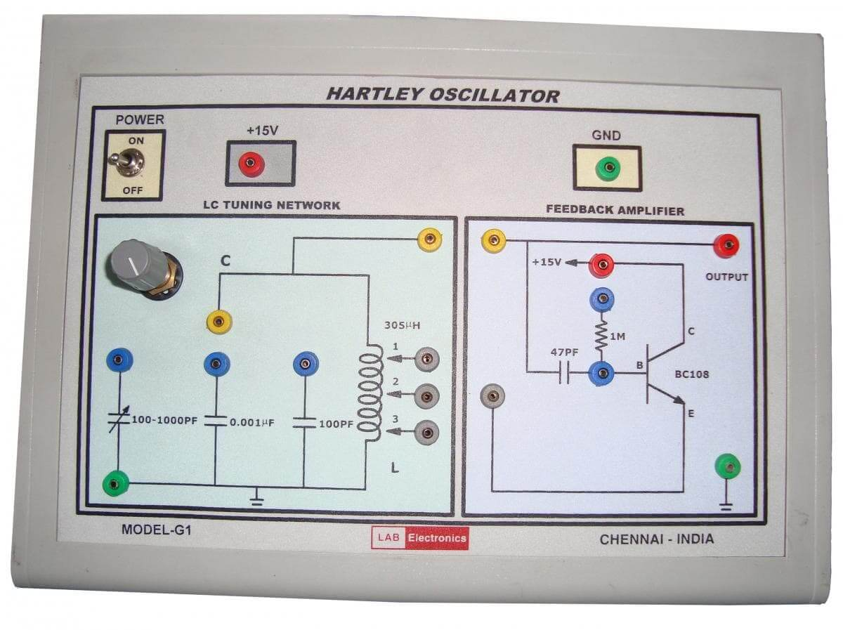 Hartley Oscillator Description Guide Analyse A Meter Introduction To Quartz Frequency Standards Circuit Types