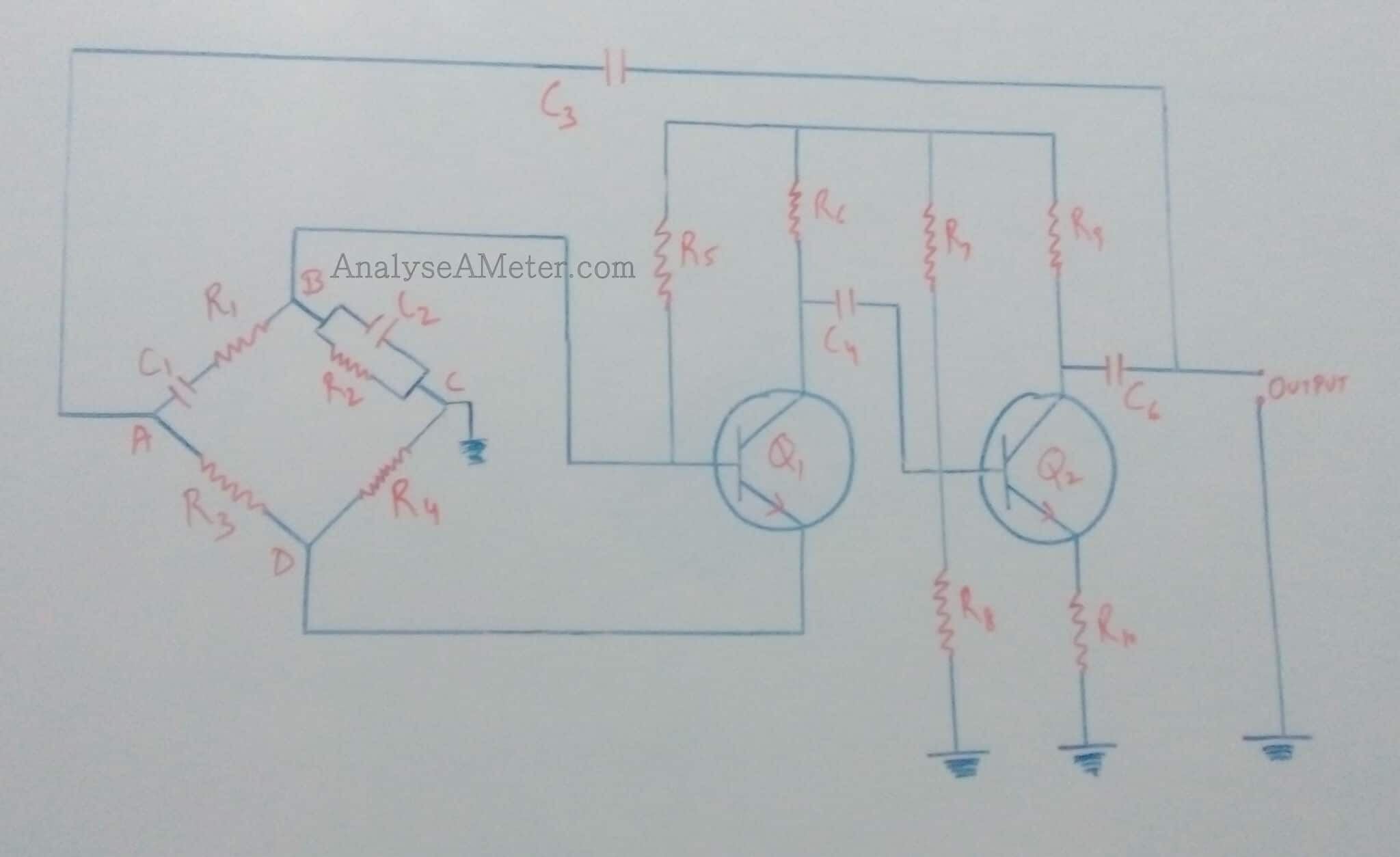 Wien Bridge Oscillator Working And Circuit Using Op Amp Guide Introduction To 741 Operational Amplifier Tutorial Electronic Image