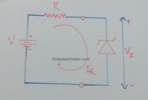 Zener diode working image