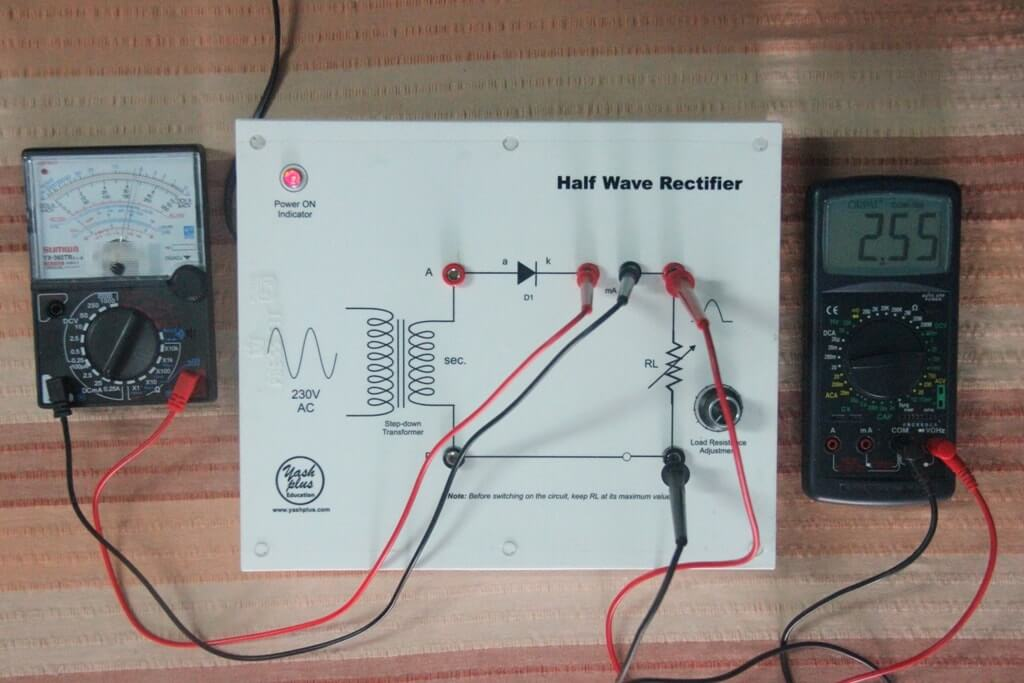 half wave rectifier image