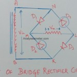 Piv of bridge rectifier circuit image
