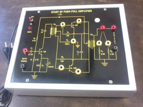Push pull amplifier image