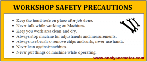 Industrial safety precautions